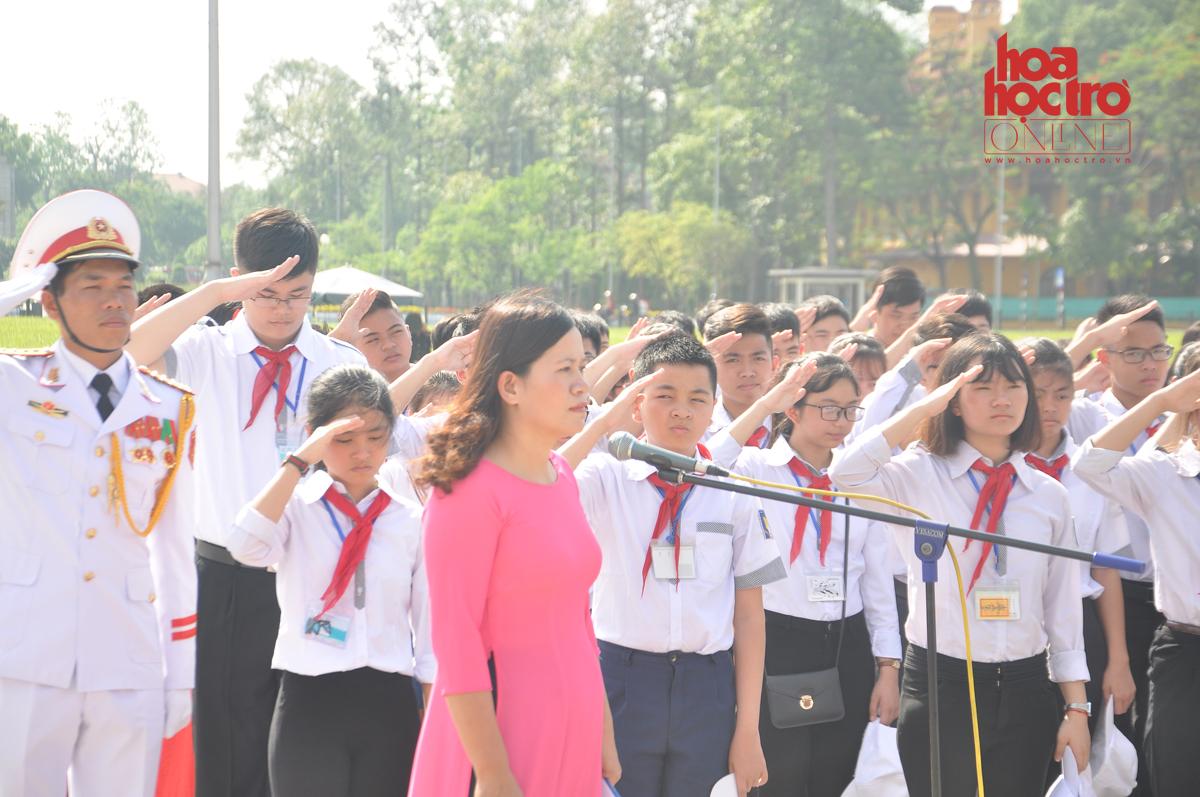 Chuyến tham quan Hà Nội siêu vui của teen THCS Nguyễn Hiền (Nam Định)