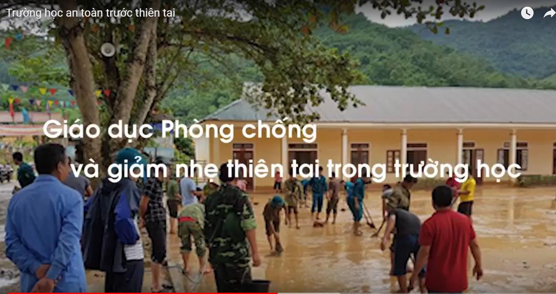 Video Trường học an toàn trước thiên tai