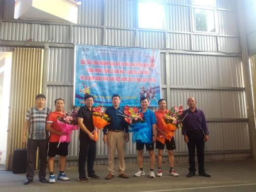 Giải cầu lông ngành GD&ĐT chào mừng 36 năm ngày Nhà giáo Việt Nam 20/11