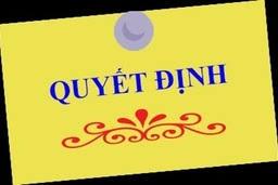 Quyết định thành lập Ban chỉ đạo chương trình giáo dục phổ thông mới huyện Nam Trực - tỉnh Nam Định