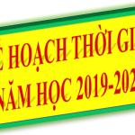 Năm học 2019-2020