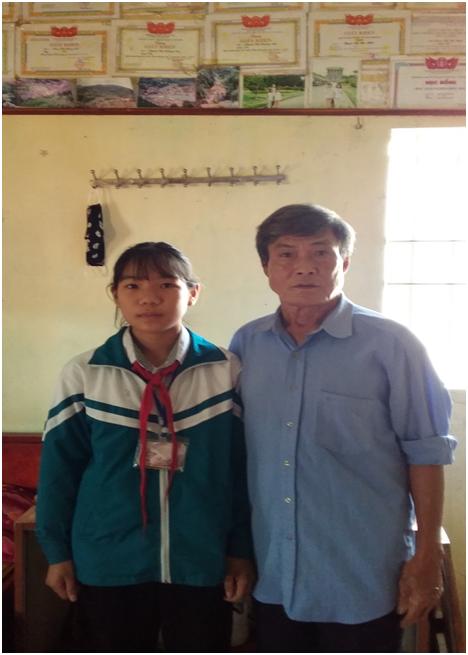 TRƯỜNG THCS NAM THANH: TẤM GƯƠNG VƯỢT KHÓ – HỌC GIỎI