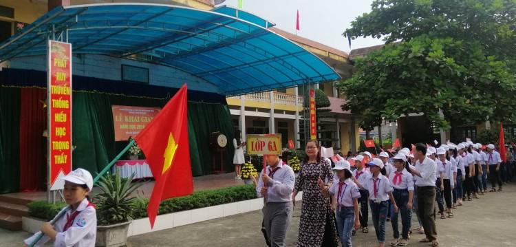 Sự nghiệp giáo dục THCS Nam Hoa vẫn cần lắm những tấm lòng vàng