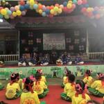 Trẻ tham gia Hội thi Bé khỏe, bé tài năng