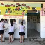 Nhà vệ sinh khu B trường tiểu học Nam Tiến