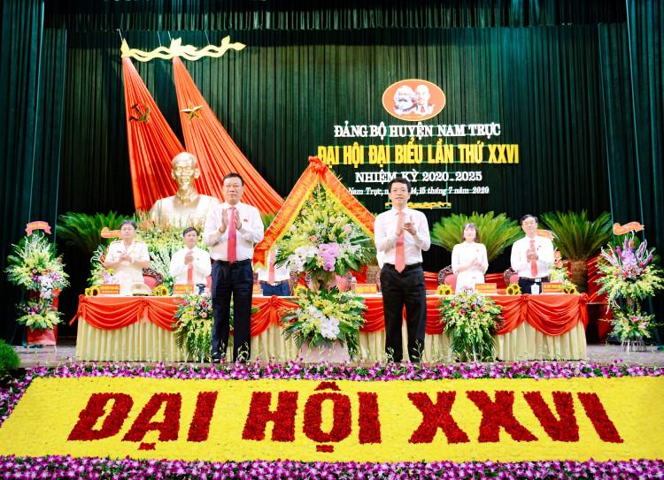 Đảng bộ huyện Nam Trực long trọng tổ chức đại hội đại biểu Đảng bộ huyện lần thứ XXVI, nhiệm kỳ 2020 - 2025