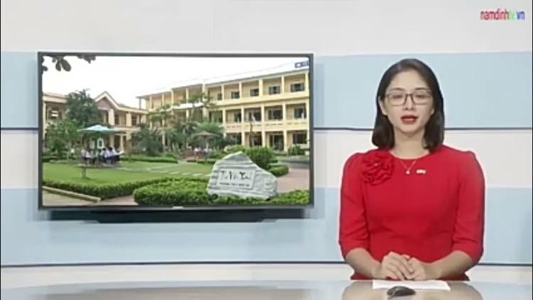 Trường THCS Điền Xá huyện Nam Trực tỉnh Nam Định huy động các nguồn lực chuẩn bị cho chương trình giáo dục phổ thông mới